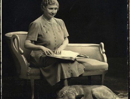 【歴史】アメリカで秋田犬を初めて飼ったのはヘレン・ケラー
